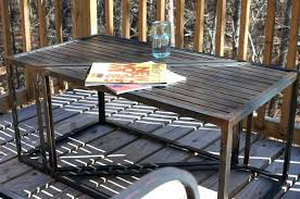 round metal picnic tables image of patio table frame dimensions expanded metal round picnic table