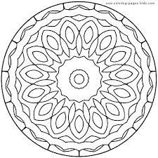 Coloring Pages Free Mandala Coloring Pages Online Ring Mandalas