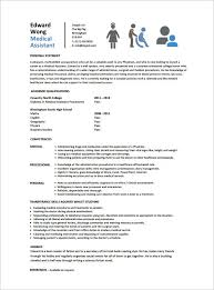 Example Of Medical Assistant Resume New Medical Assistant Resume Templates Downloads Medical Assistant