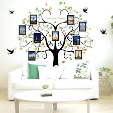 large family picture frames family tree wall decal 9 large photo pictures frames wall vinyl large silver family photo frame