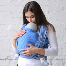 Love & Carry Woven Baby Wrap - Sea