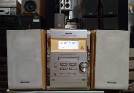 Bộ dàn mini loa 2 cầu Panasonic PM300... - Nguyễn Hiển Audio