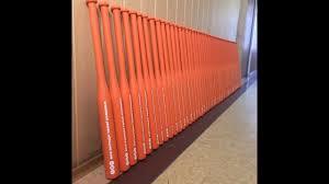 <b>Бейсбольная бита</b> на заказ <b>оранжевого</b> цвета - YouTube