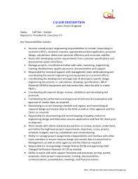 Resume For Hvac Project Engineer Sidemcicek Com