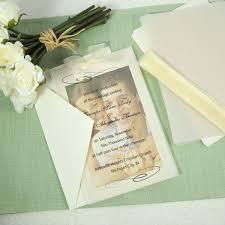best 25 diy wedding invitation kits ideas on pinterest Wedding Invitation Kits Print Your Own caublehouse vellum and photo wedding invite kit wedding invitation kits print your own