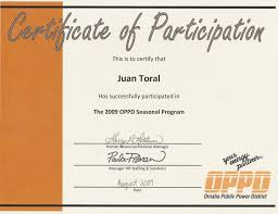 Samples Of Certificates Of Participation Free Sample For Certificate Of Participation Best Of U Certificate