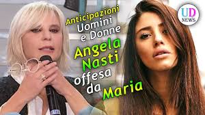 Anticipazioni Uomini e Donne Trono Classico: Angela Nasti Offesa da Maria  De Filippi! - YouTube
