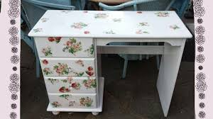 diy vintage furniture. Contemporary Vintage DIYVintage Shabby Chic Romantic DeskTransform Your Old Furniture   YouTube Intended Diy Vintage Furniture U