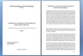 "reflection on experience online public relations"" kat s pr  communications and technology essay"