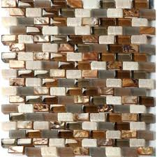copper glass tile backsplash penny cabinet doors white gloss under beautiful copper glass tiles