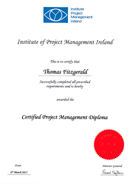certified project management diploma ipma certified project management diploma