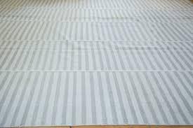striped kilim carpet