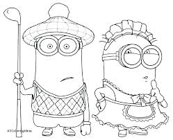 Minions Coloring Pages Pdf Despicable Me Coloring Pages Minions