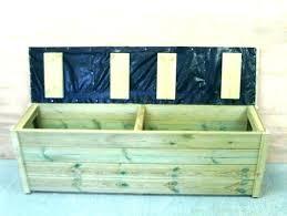 waterproof outdoor storage bench deck patio box container outdoor furniture storage