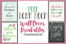 Shop dorm decorations, furniture, storage & more! Dorm Room Wall Decor Printables The Farm Girl Gabs