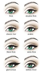diffe ways to do eyeliner