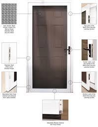 security screen doors. Stainless Steel Heavy-Duty Riveted Hinges Security Screen Doors O