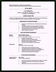 Sample Medical Receptionist Resumes Medical Office Receptionist Resume Top Resume Sample For