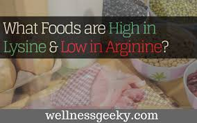 Lysine Chart What Foods Are High In Lysine Low In Arginine