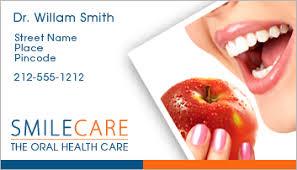dental visiting card design dental business card sample designs ideas startupguys net