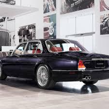 jaguar xj6 land rover clic car rear view 2248x2248 wallpaper