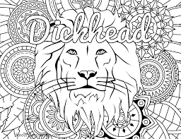 Coloring Pages Tremendous Swear Word Coloring Sheets Photo Ideas