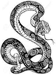 Tatouage Dessin Serpentll L