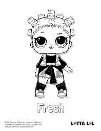 Fresh Coloring Page Lotta Lol Emmas 7th Birthday Coloring Pages