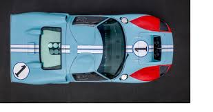 While things did not look good for le mans, in dearborn roy lunn and his team had a new version of the gt40 ready for testing. Replica Ford Gt40 Used In Ford V Ferrari Movie To Roll Across Auction Block