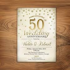 the 25 best 50th wedding anniversary invitations ideas on Blank Golden Wedding Invitations 50th wedding anniversary invitation gold white retro digital printable invitation customized blank 50th wedding anniversary invitations