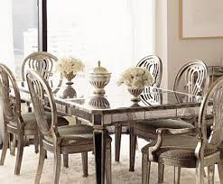 dining room chairs homesense. the distressed mirror panelling on this breathtaking dining table adds just right amount of reflection when paired with neutral chairs. room chairs homesense