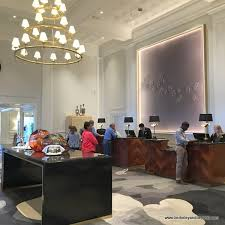 check in desk at the claremont club spa a fairmont hotel in berkeley