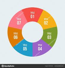 Steps Pie Chart Circle Infographic Circular Diagram Stock
