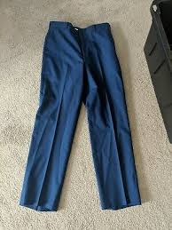 Army Asu Dress Blue Pants Enlisted Men Exact Measurements