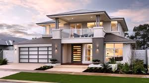 Best Double Story House Designs Home Design Plans Modern Two Story House Floor Ultra View