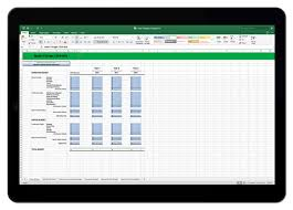 Excel Templates For Budgeting 3 Year It Budget Template For Excel