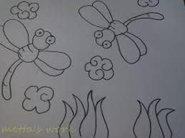 Hendaknya kita pakai pensil tipe 2b dan jangan lupa sajikan penghapus juga. Gambar Batik Bunga Yang Mudah Digambar Bagikan Contoh