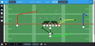 Free Football Play Designer Football Playbook Designer Create And Draw Your Own