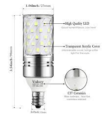 vakey e12 led bulbs