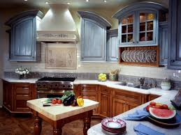 Painting Kitchen Cabinets Blue Kitchen Cabinet Repainting Interior Repainting Kitchen Cabinets
