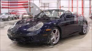 2004 Porsche Boxster blue - YouTube