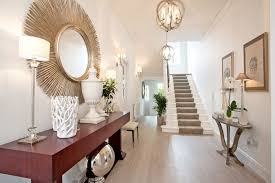 L Entrance Hall Decoration Transitional With Console Table Osborne And  Little