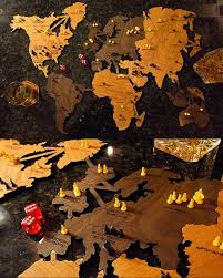 Risk Board Game Wooden Box Custom Wooden Board Game World Map Fringe Focus Fantastic Factory