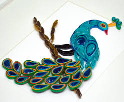 Decorative Items With Paper Similiar Peacock Decorative Items Keywords