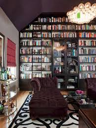 Furniture: Pretty Home Library Ideas - Home Library