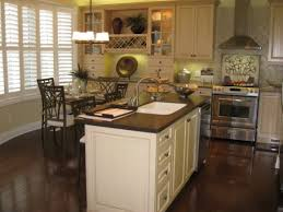 78 Examples Ornamental Antique White Kitchen Cabinets With Dark