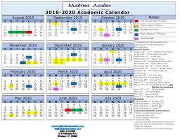Madina Academy School Calendar Madina Academy
