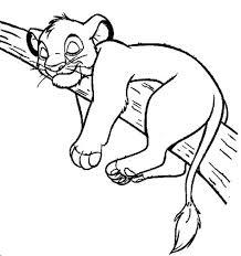 Small Picture Simba Sleep Coloring Page Simba Sleep Coloring Page Color Nimbus