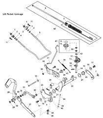 John deere x305r lift linkage exploded parts diagram