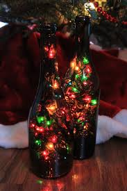How To Decorate A Wine Bottle For Christmas DIY Wine Bottle Christmas Lights Blog Your Wine 23